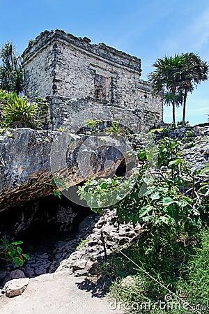 Temple Tulum Mexico