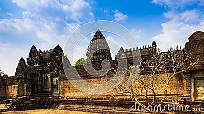 Temple under blue sky