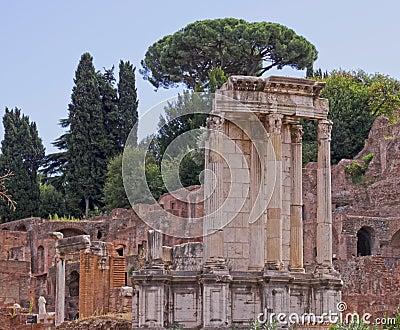 Temple of Vesta HDR