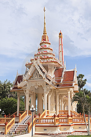 Temple Wat Chalong in Phuket