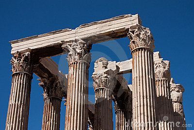 THE TEMPLE OF ZEUS ATHENS