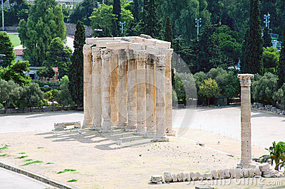 Temple of Zeus, Athens