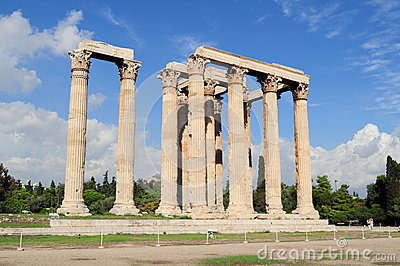 Temple of Zeus, Olympia, Greece.