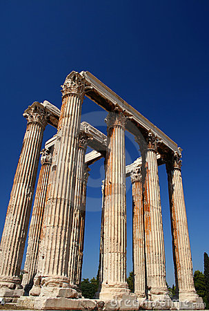 Temple of Zeus pillars