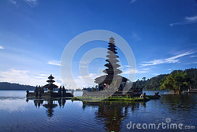 Temples at Bali Indonesia