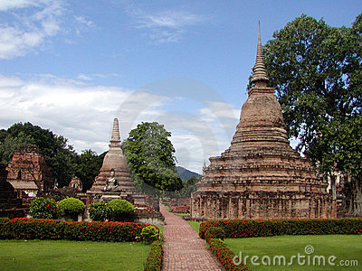 Temples thaïs