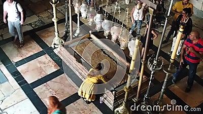 Templet av helgedomen begraver lager videofilmer