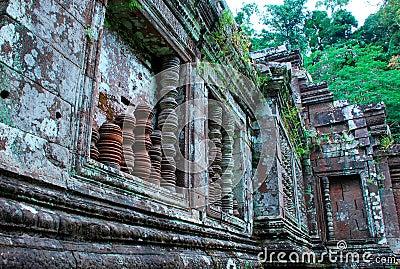Templo cambojano antigo