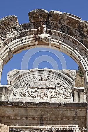 Templo de Hadrian, Ephesus, Izmir, Turquia
