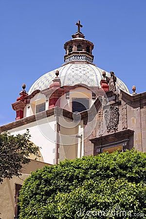Templo de Santa Clara - Queretaro, Mexico