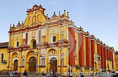 Templo de Santo Domingo cathedral in Mexico