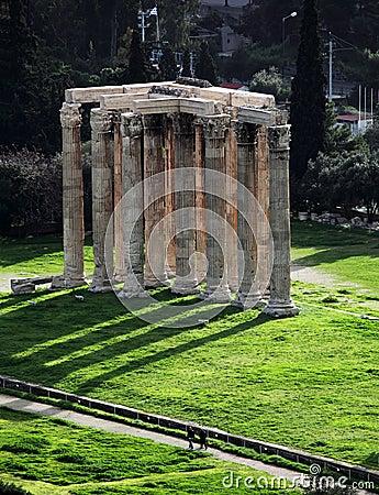 Templo del Zeus olímpico