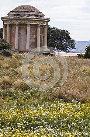Templo en Palermo, Monte Pellegrino