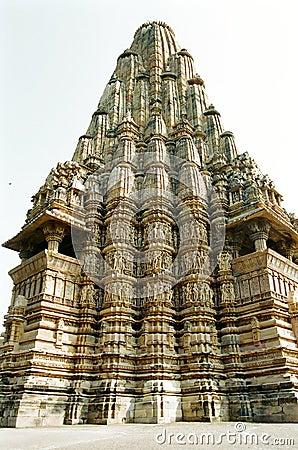 Templos eróticos de India em Khajuraho