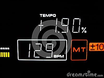 Tempo is 129 BPM