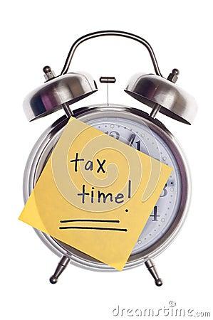 Tempo do imposto