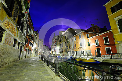 Temporal dramático em Veneza