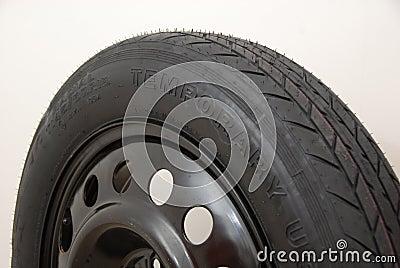 Temporary tyre
