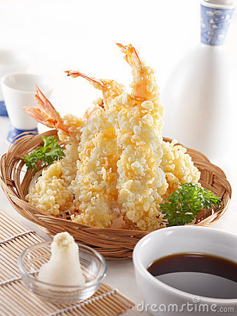 Free Tempura Royalty Free Stock Photos - 19137428