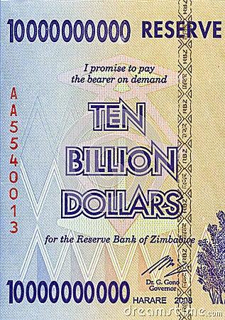 Ten Billion Dollars