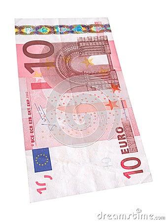 Ten Euro banknote #2