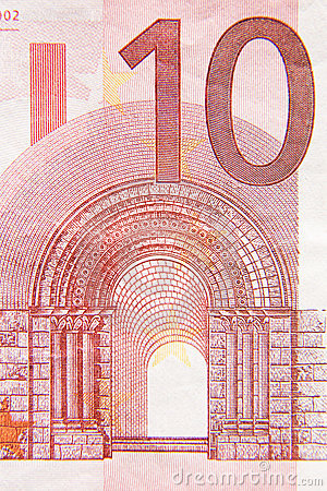 Free Ten Euros Royalty Free Stock Image - 8266186
