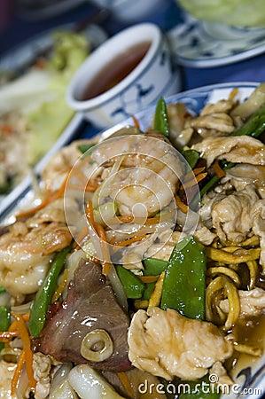 Ten igredient sea food chinese