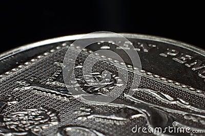 Ten Pence 10p Macro