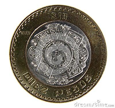 Ten Pesos Coin