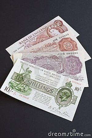 Ten Shilling History