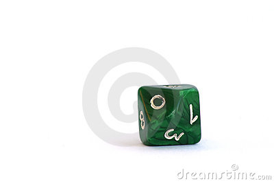 Ten-sided dice