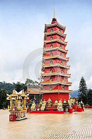 Free Ten Thousand Buddhas Monastery Royalty Free Stock Photos - 40490868
