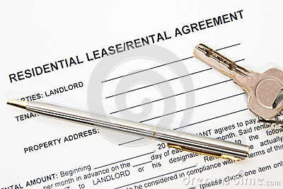 Tenant agreement concept