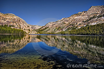 Tenaya Lake, Yosemite California