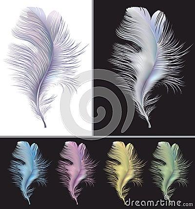 Tender air feather