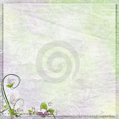 Tender anniversary, spring or holiday background