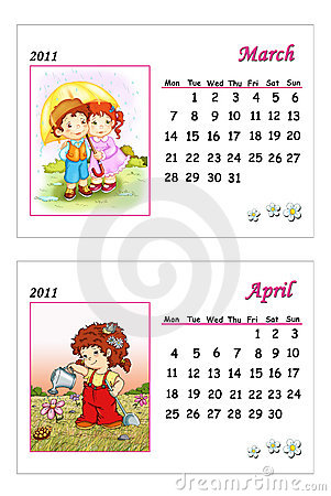 calendar 2011 march image. TENDER CALENDAR 2011 - MARCH