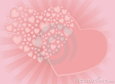 Tender congratulations with heart