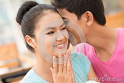 Tender flirt