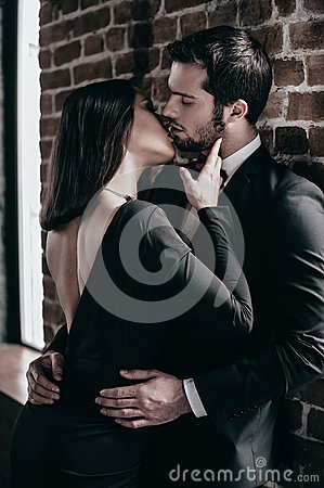 Free Tender Kiss. Stock Photo - 65661990