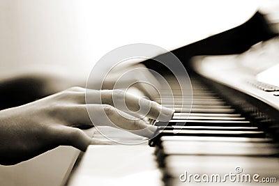 Tender piano music