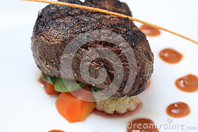 Tenderloin steak portion