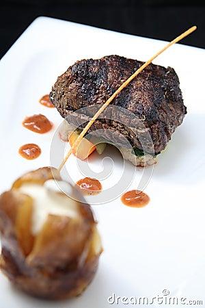 Tenderloin steak portion