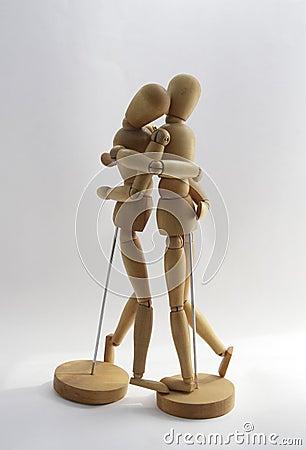 Tendresse en bois des couples 2.