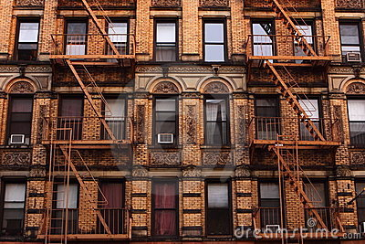 Tenement em Manhattan