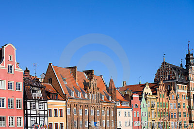 Tenement Houses in Gdansk