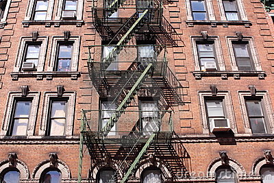 Tenement in Manhattan