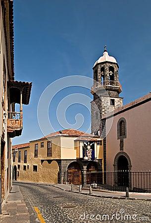 Tenerife church