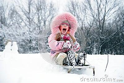 Tenha um divertimento do inverno!