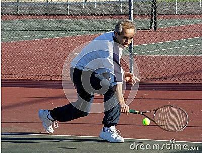 Tenis gracza